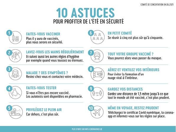 Banner tips frans