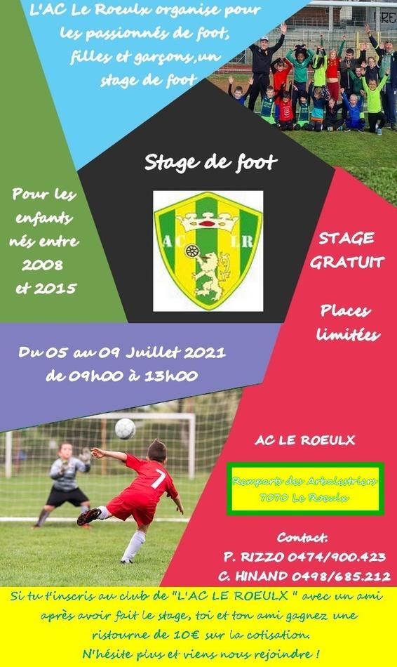 stage foot ac leroeulx