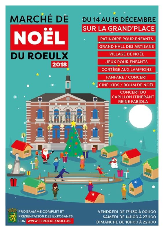 Marché de Noël du Roeulx 2018